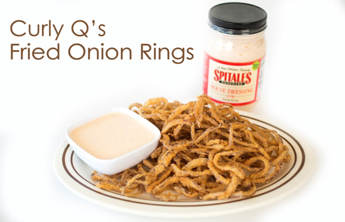 Curly Q Onion Rings