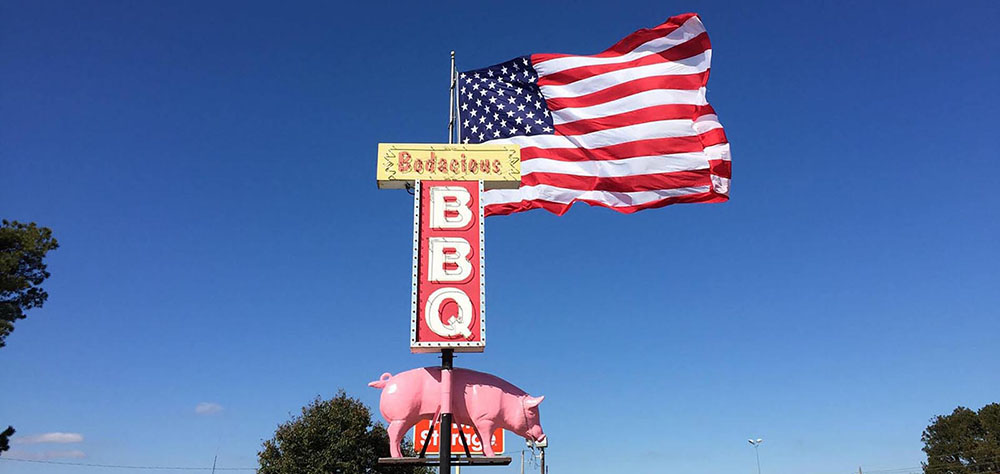 Bodacious BBQ on Barksdale Blvd in Bossier City Louisiana